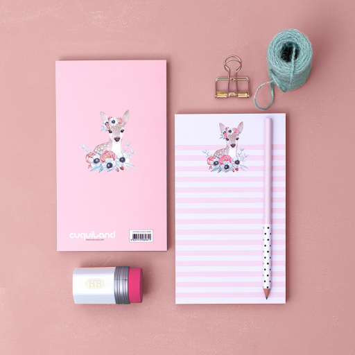 Notepad Lovely Deer (5 uds.)