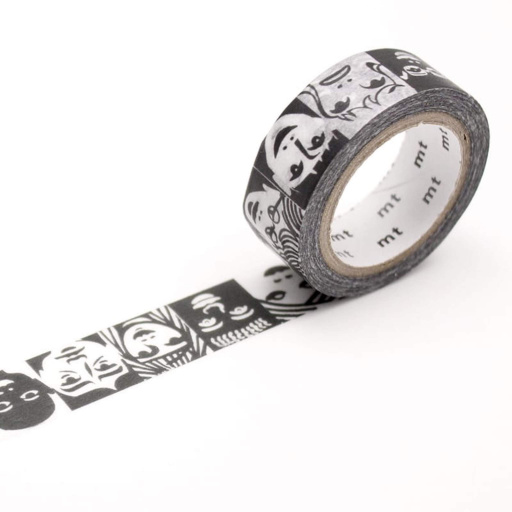 MT Masking Tape Faces (4 uds)