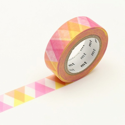 MT Masking Tape Triangle and Diamond Pink (4 uds)
