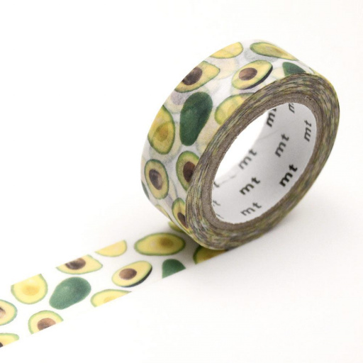 MT Masking Tape Avocado (4 uds)