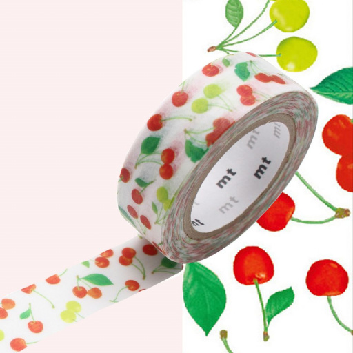MT Masking Tape Cherries (4 uds)