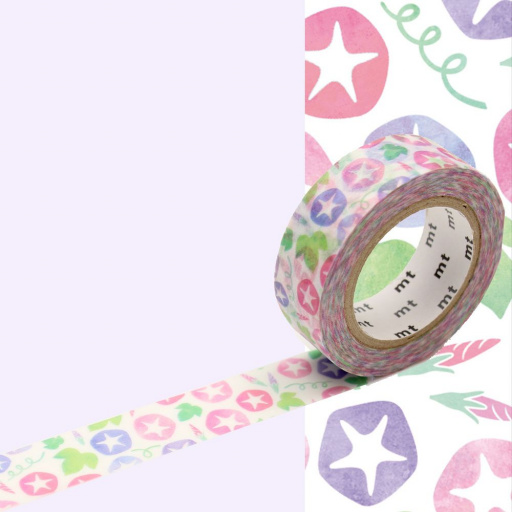 MT Masking Tape Morning Glory (4 uds)