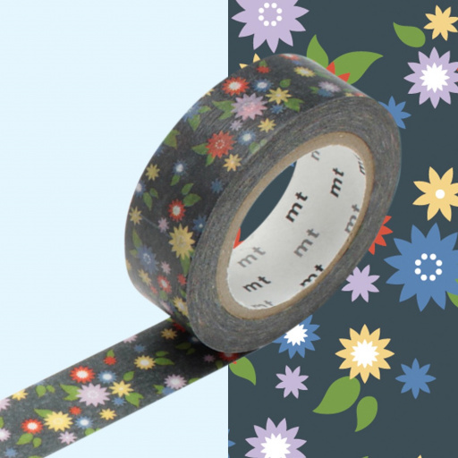 MT Masking Tape Mini Flower (4 uds)